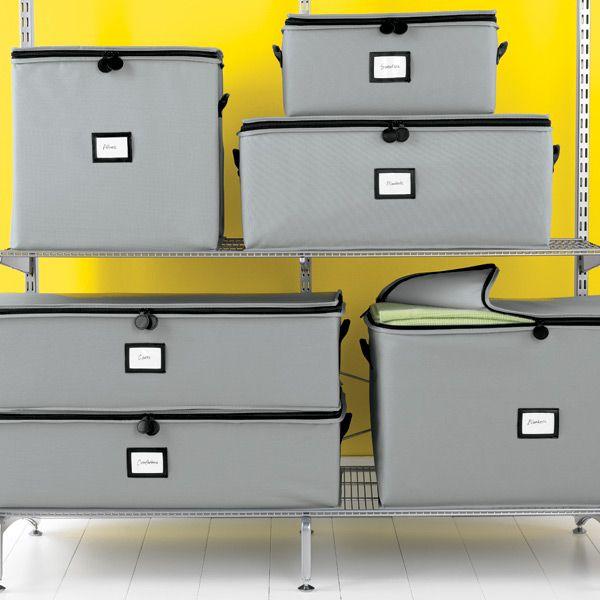 Grey Storage Cube
