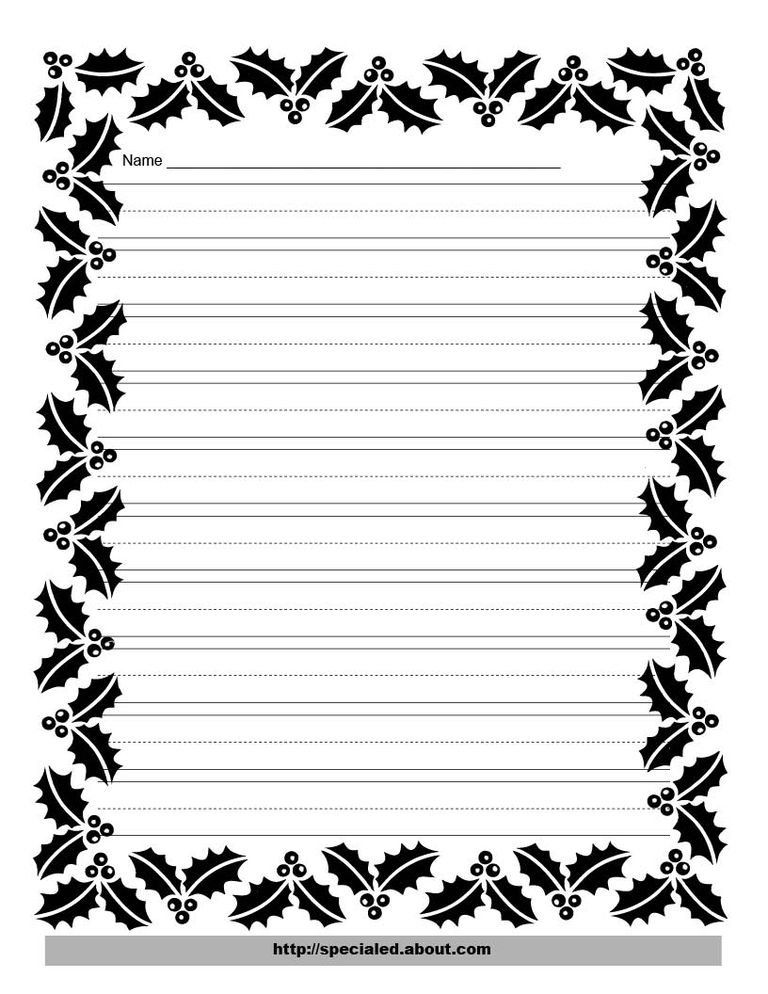 writing paper borders Autumn writing paper contributed by leanne guenther some of this paper has tracer lines so that early printers can easily write a short note to grandparents or friends.