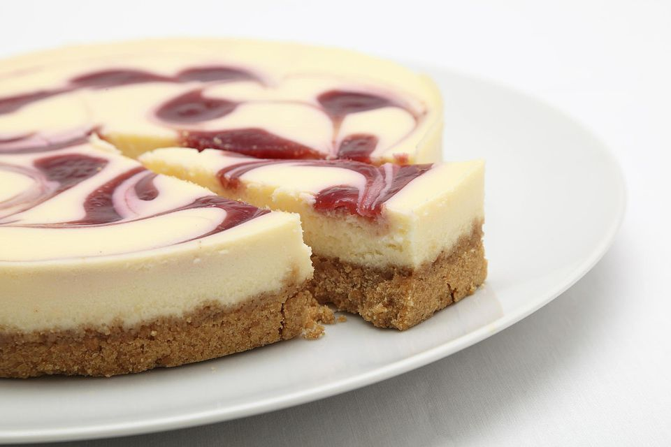 Miniature Raspberry Cake