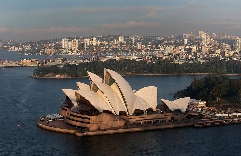 General view of Sydney Opera House