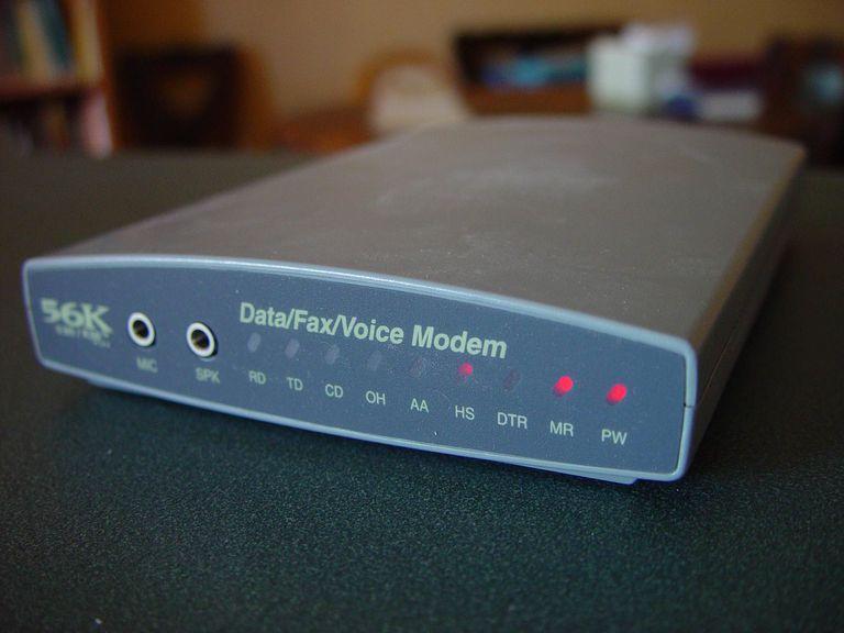 Dial up modem