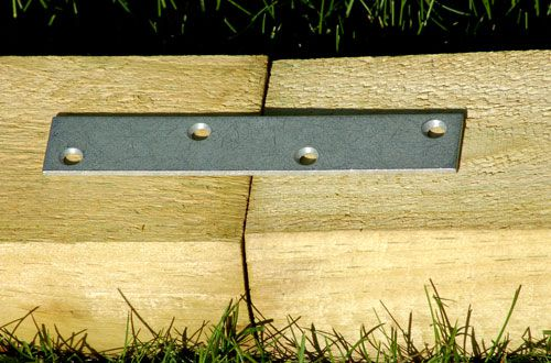 How To Install Landscape Timber Edging
