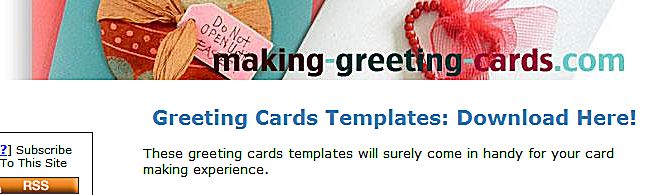 cards templates