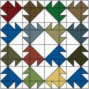 Single T An Easy Patchwork Quilt Block Pattern