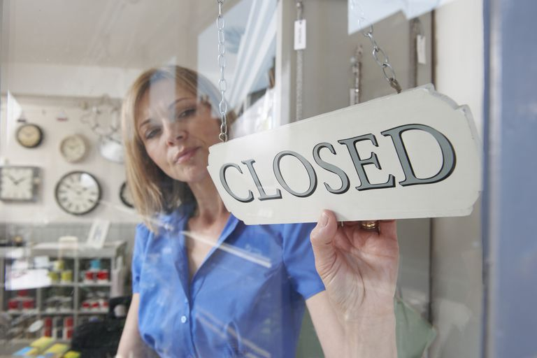 Owner closing shop