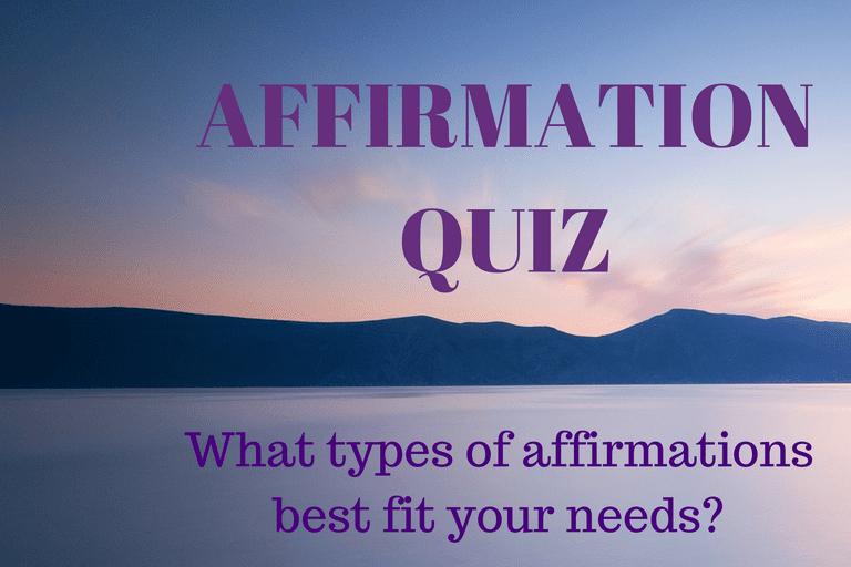 Affirmation Quiz