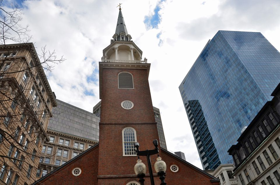 Old South Meeting House Boston Freedom Trail