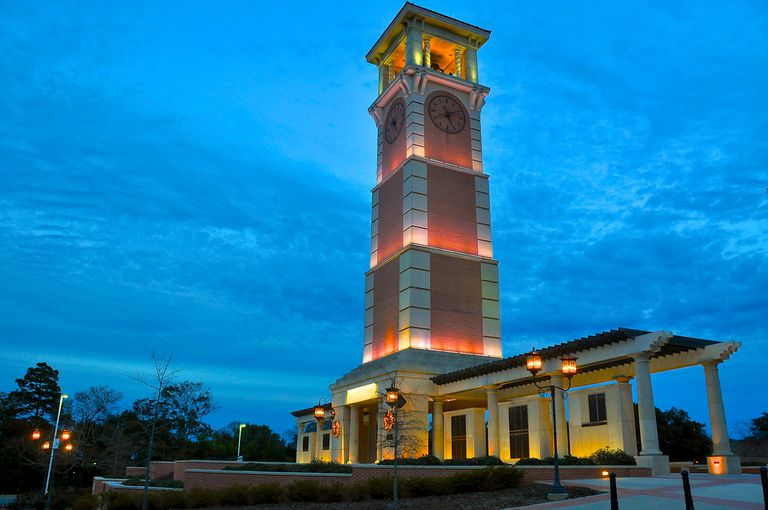 University of South Alabama Bell Tower
