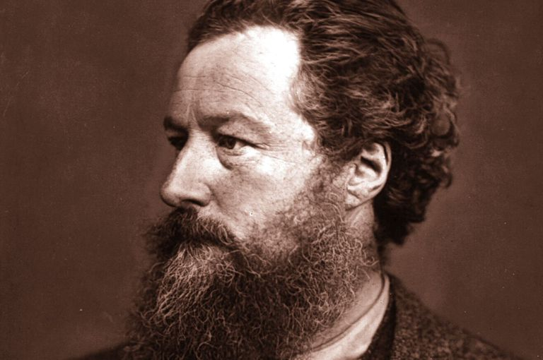 William Morris (1834-1896), English Socialist, Artist, Craftsman, and Poet