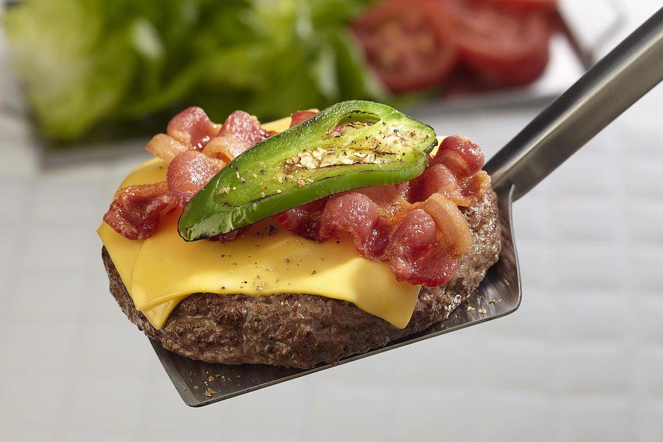 Jalapeno cheeseburger