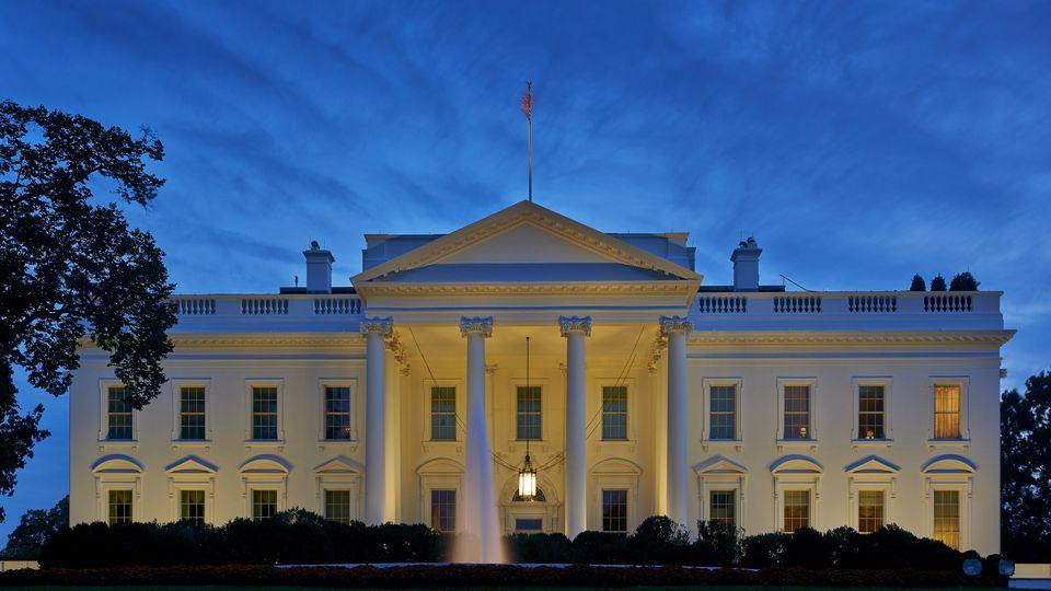 The White House at Dusk