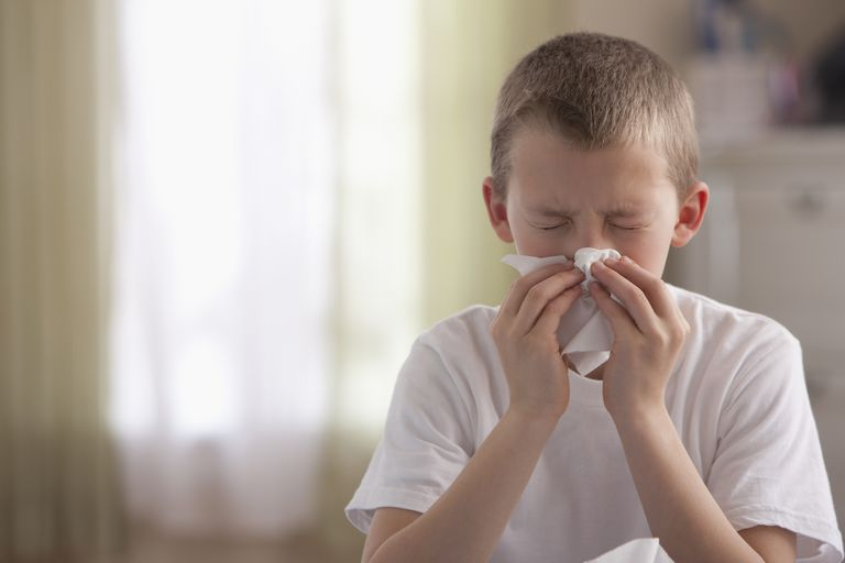 nosebleeds caused by allergy