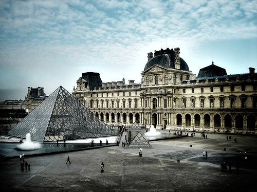 The Carrousel du Louvre is located within the famous glass pyramid at the Palais du Louvre.