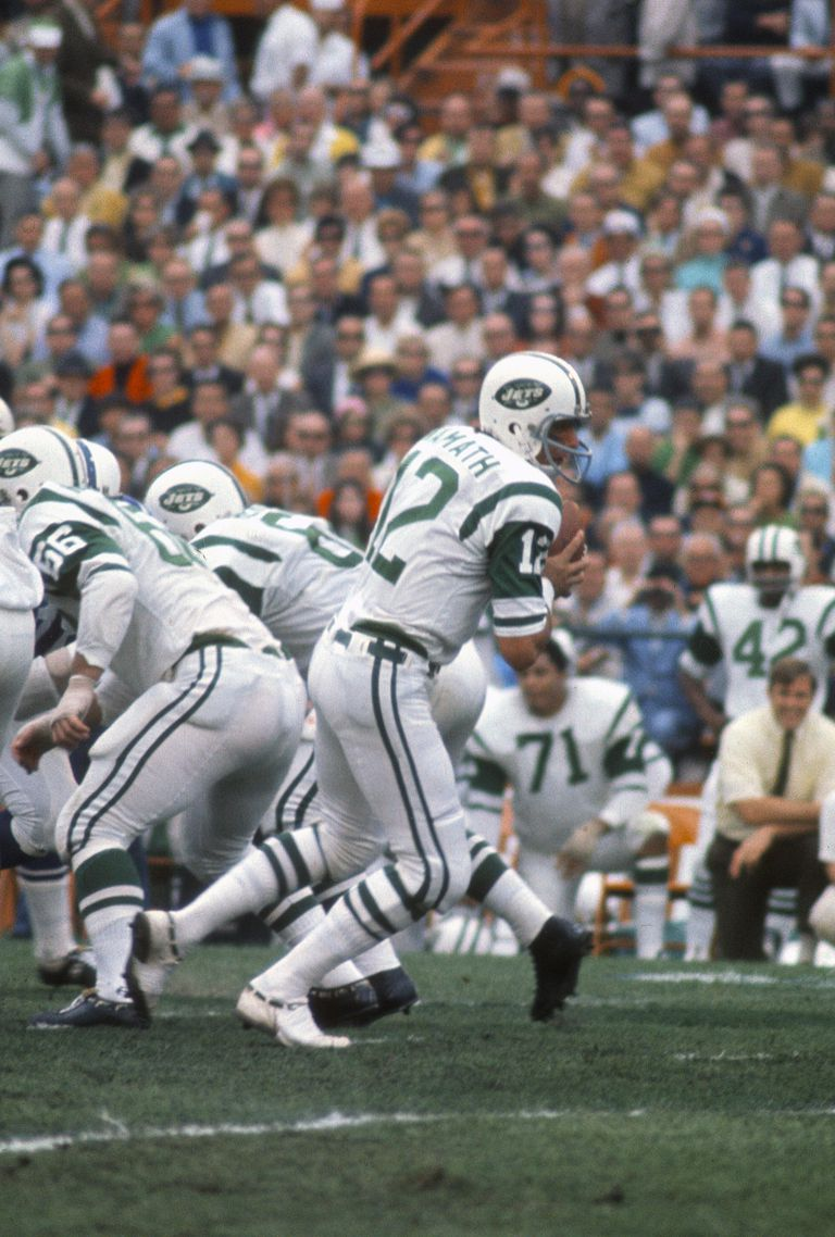 SuperBowl III-New York Jets v Baltimore Colts