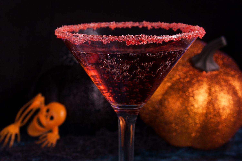 Finlandia Vodka Vampire Kiss Martini Cocktail Recipe