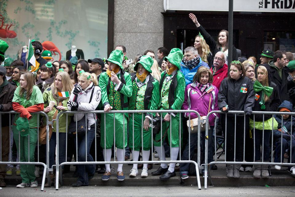 Annual St. Patrick's Day Parade Held In New York