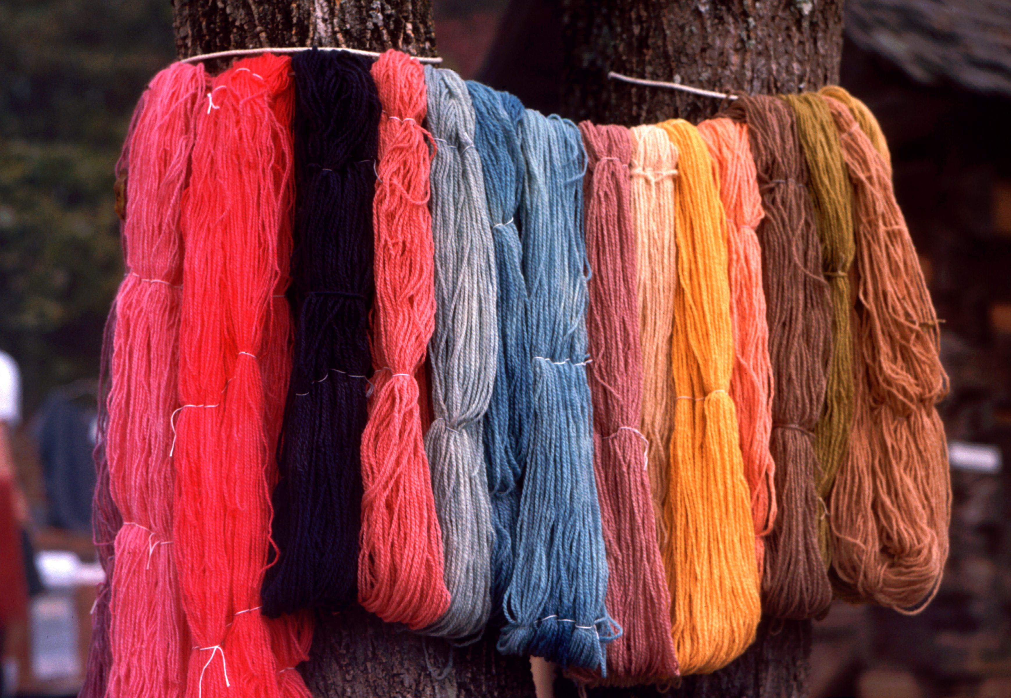 Coloring Fabric Using Natural Dyes