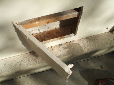 Drywall Door for Wiring