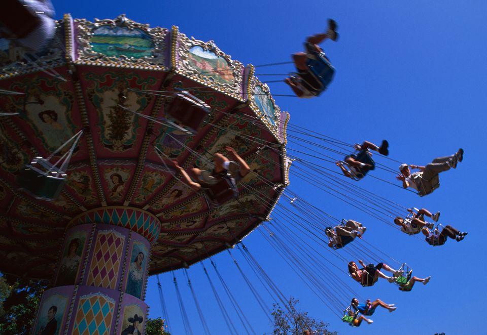 Amusement Ride at Knott's Berry Farm
