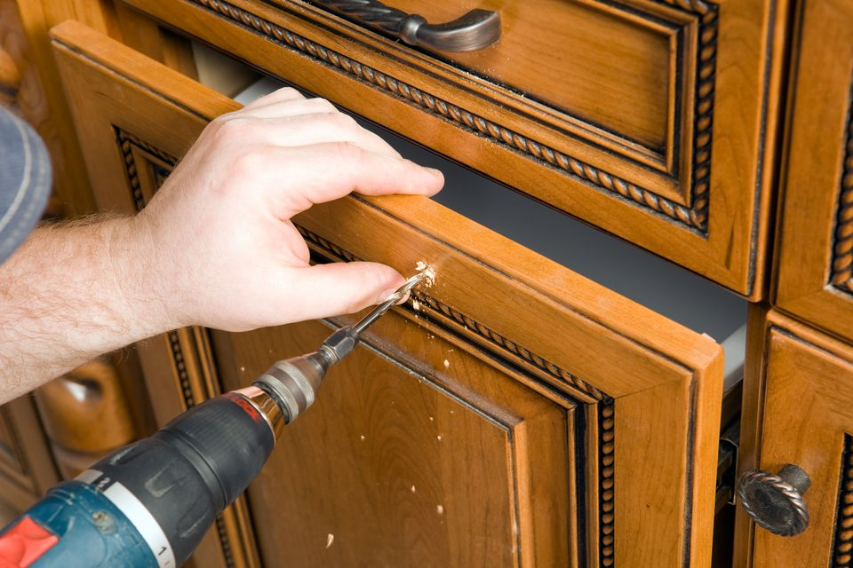Installing New Cabinet Hardware