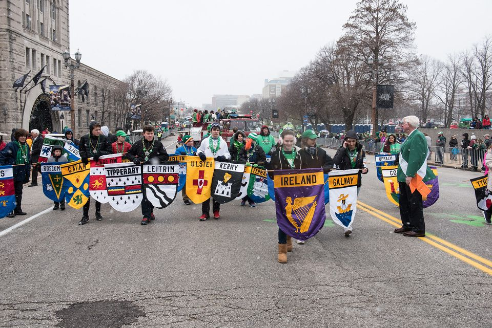 St. Patrick's Day Parade, Downtown St. Louis