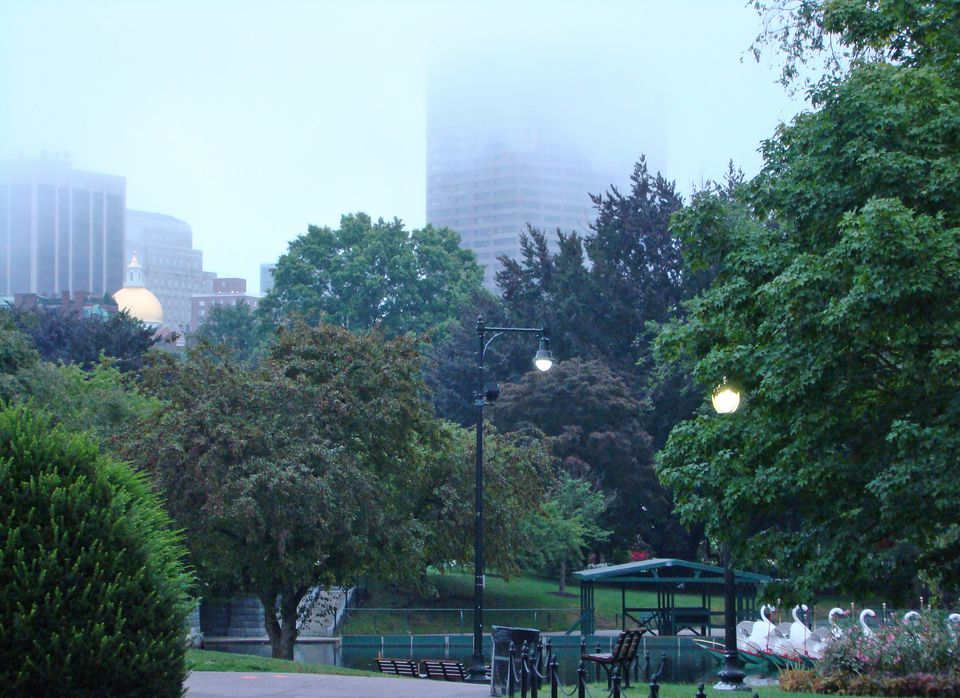 Boston offers some of the finest urban parks in America.