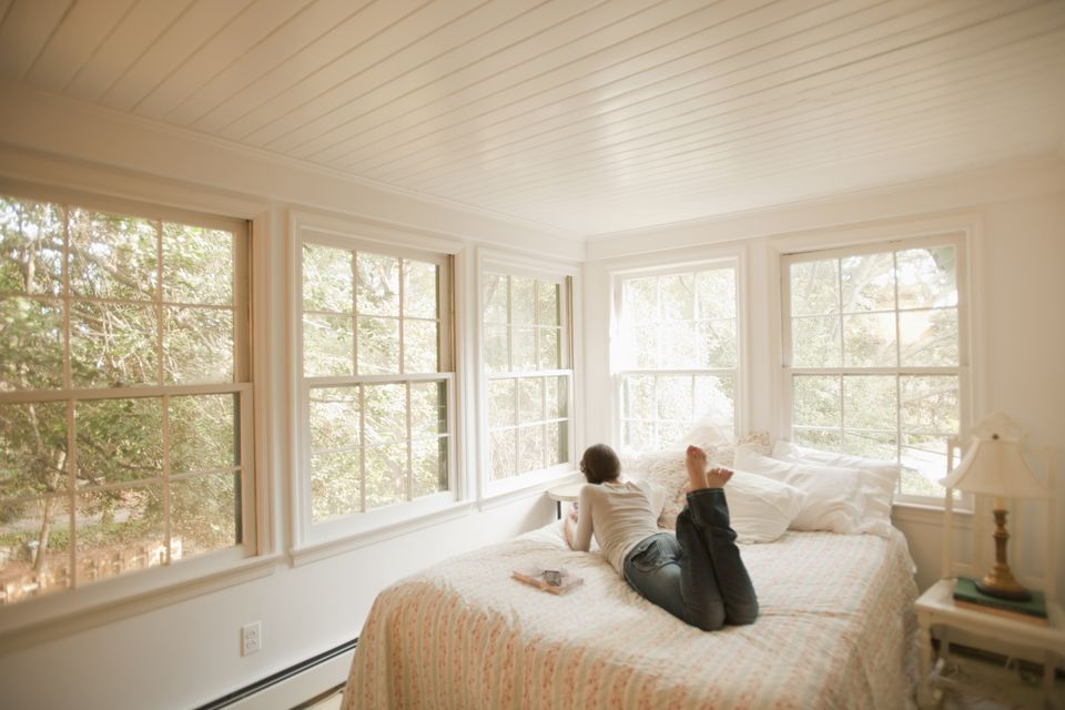 Bedroom windows. Bad Feng Shui   Bed Under the Window