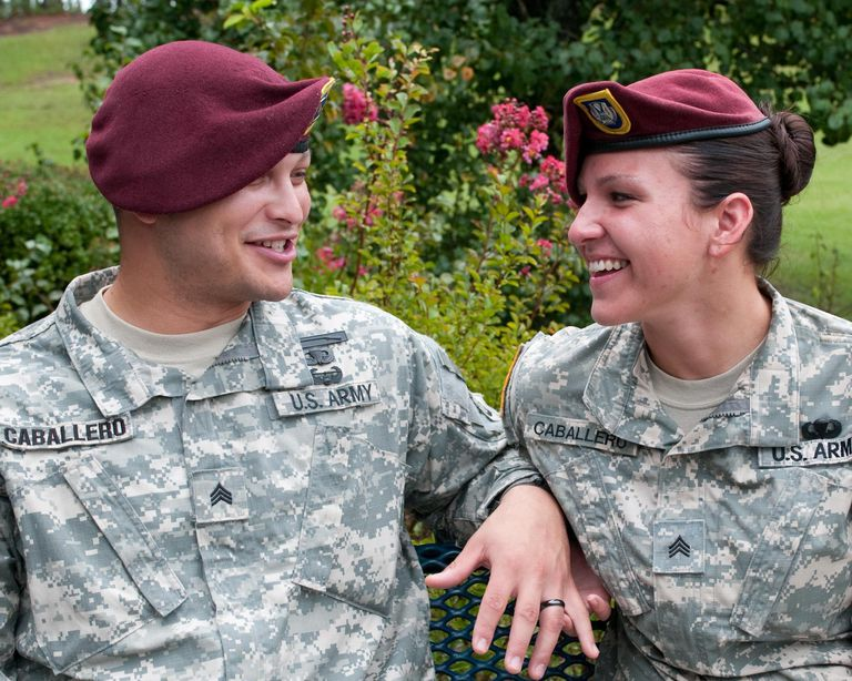 Dual Military Couple