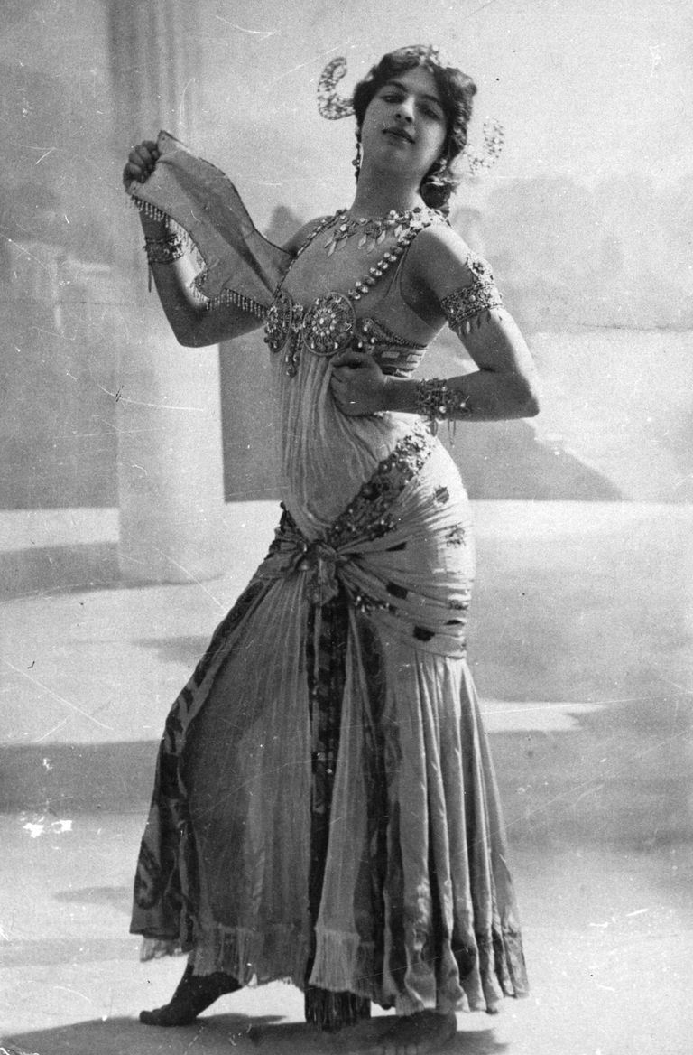 Picture of World War I spy, Mata Hari.