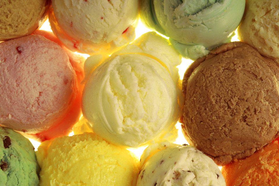 ice cream history recipe sorbet sherbet receipt