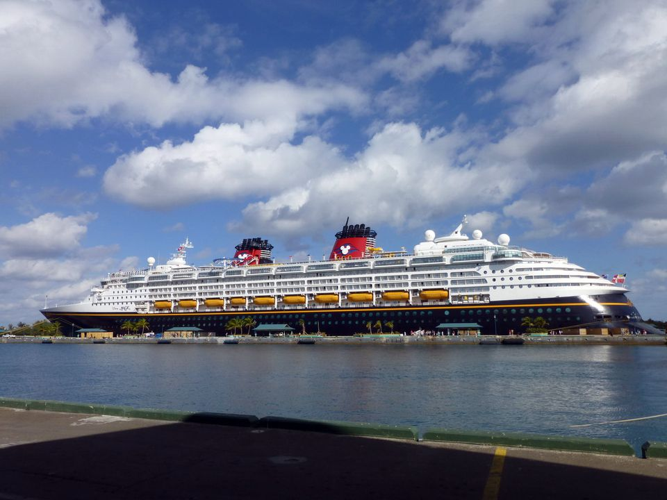 Disney Magic at Nassau in the Bahamas