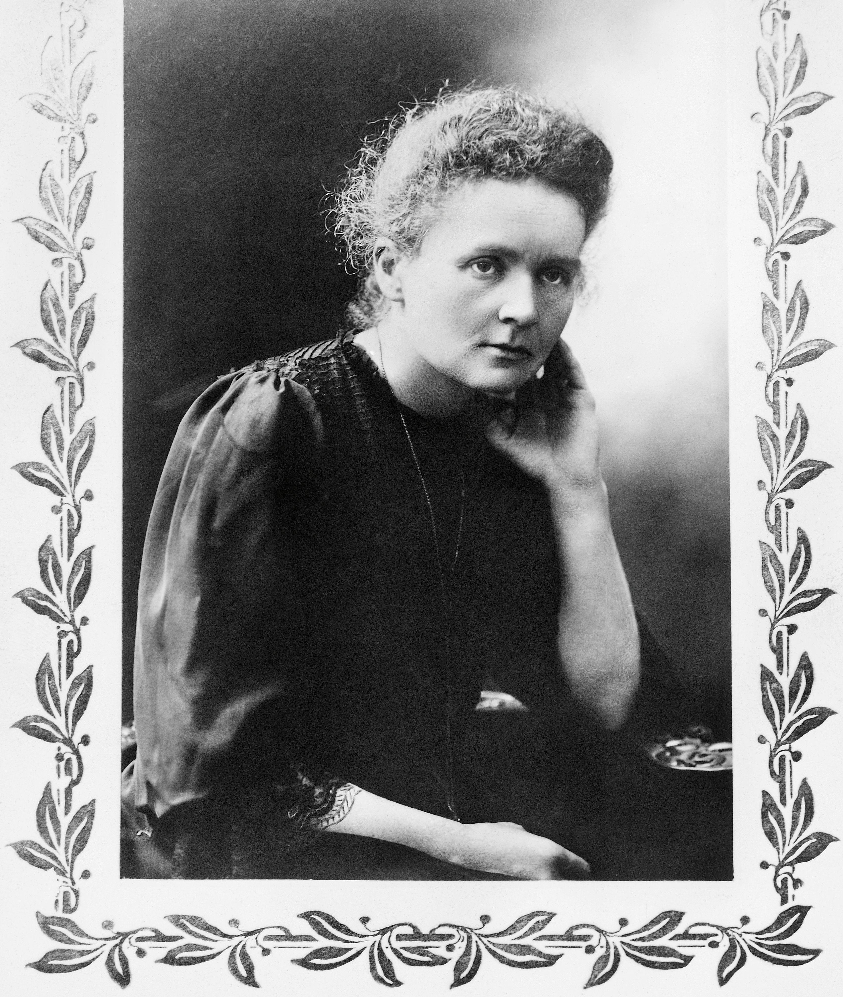 Marie Sklodowska Curie - 1867 to 1934