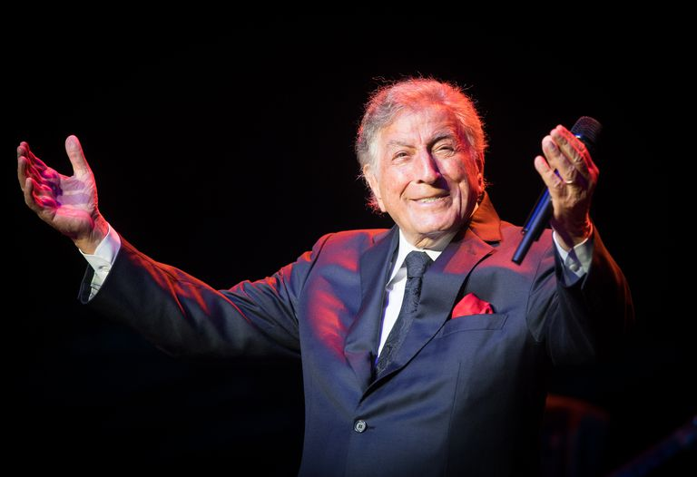 Tony Bennett Performs At The Royal Albert Hall