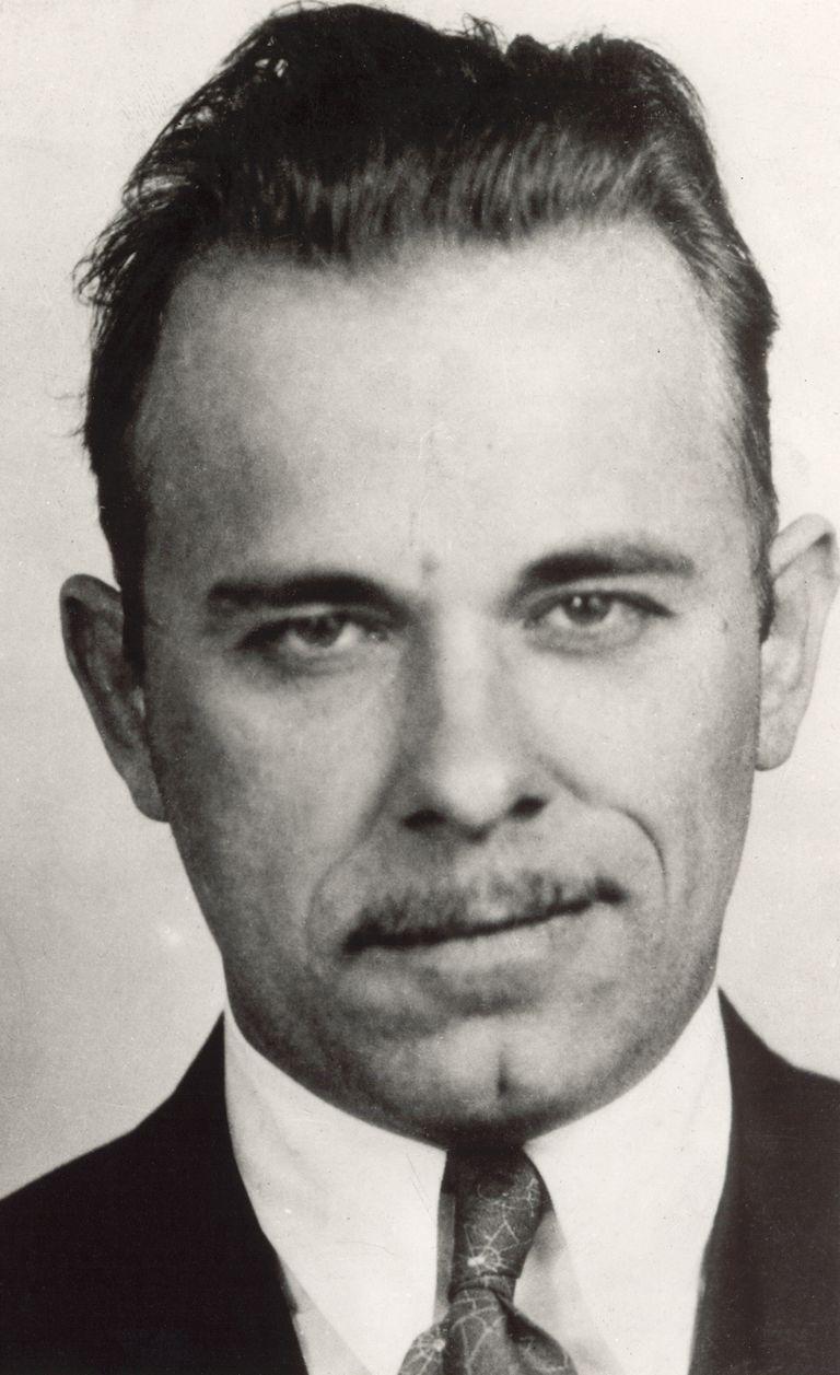 John Dillinger - FBI's Public Enemy Number 1