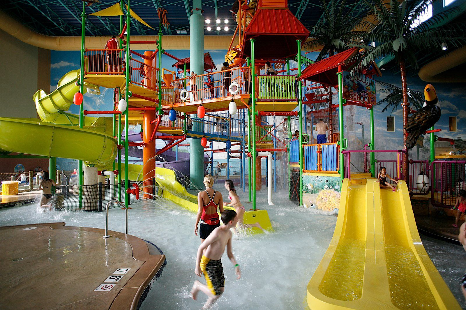 Key Lime Cove Indoor Water Park In Illinois