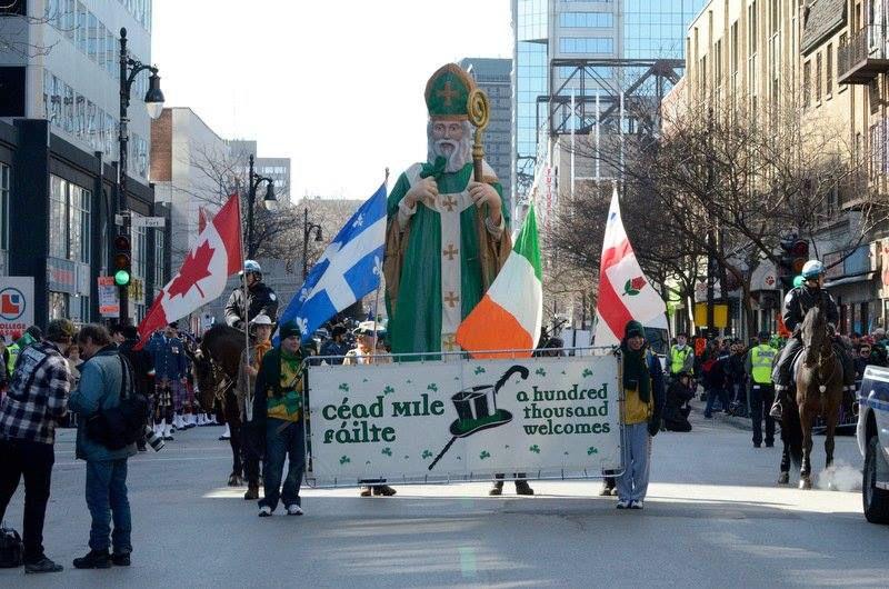 United Irish Societies of Montreal, Montreal's 195th St Patrick's Parade