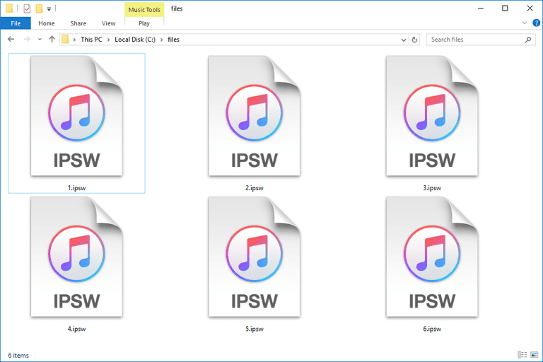 IPSW Files
