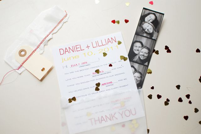 Free Mad Libs Style Wedding Thank You Card From The Knotty Bride