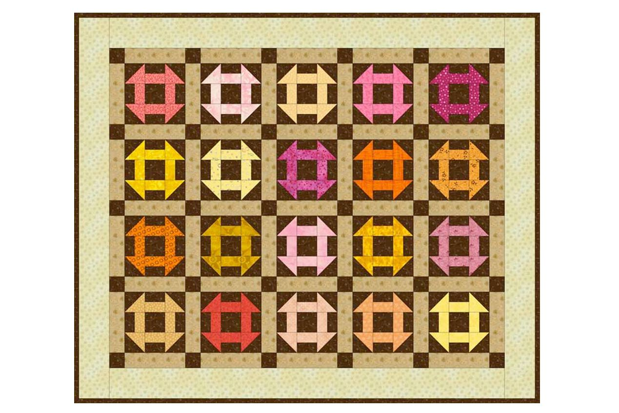 Easy Monkey Wrench Baby Quilt Pattern : monkey wrench quilt pattern history - Adamdwight.com
