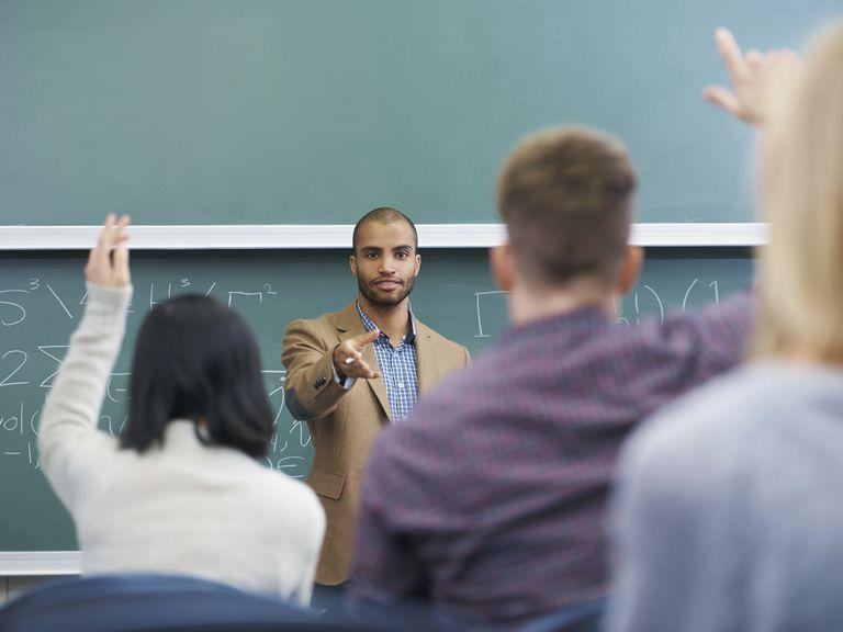 Good teachers get students involved