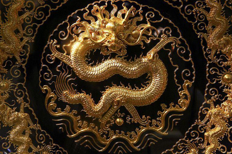 Lacquer Thread Sculpture Art Exhibition Held In Beijing