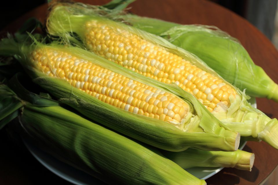 Steamed Corn on the Cob