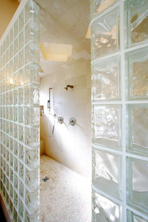 walk in shower with a touch of the 80s shower without door - Walk In Shower Designs Without Doors