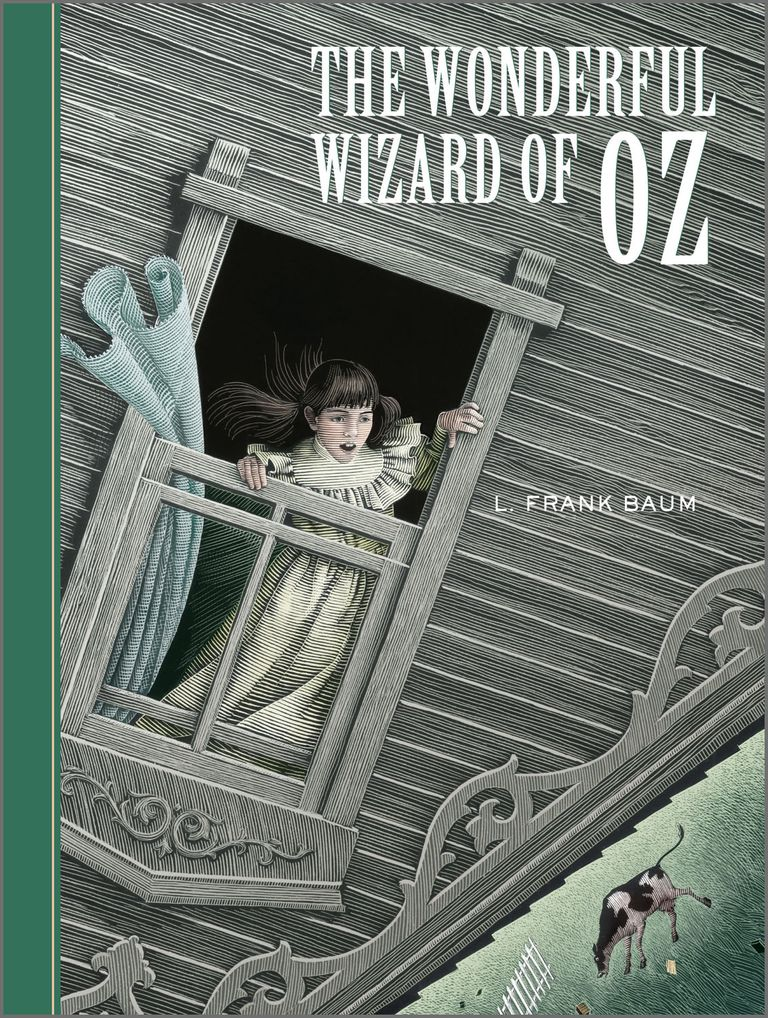 The Wonderful Wizard of Oz - book cover