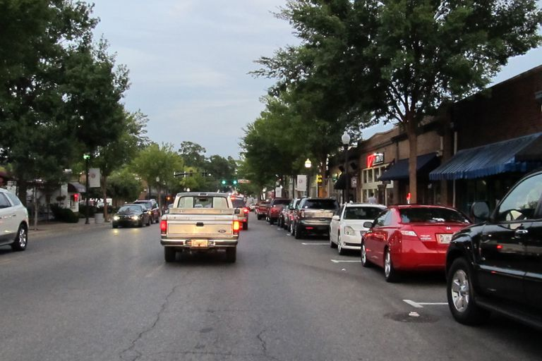 University Boulevard in Tuscaloosa, Alabama