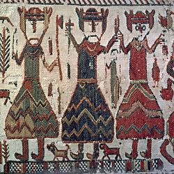Odin, Thor and Freyr or three Christian kings on the 12th century Skog Church tapestry