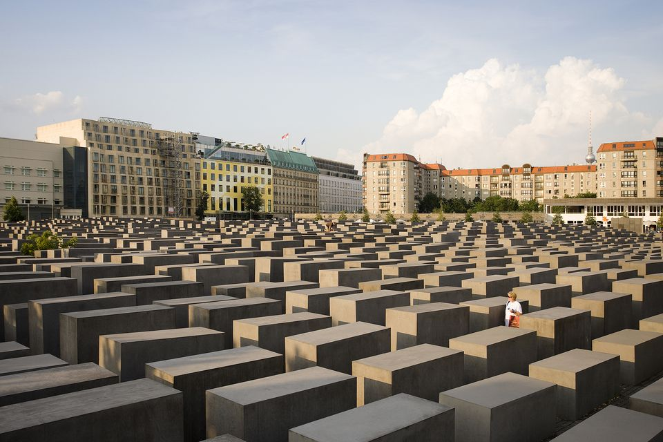Germany , Berlin City The HolocAust Memorial