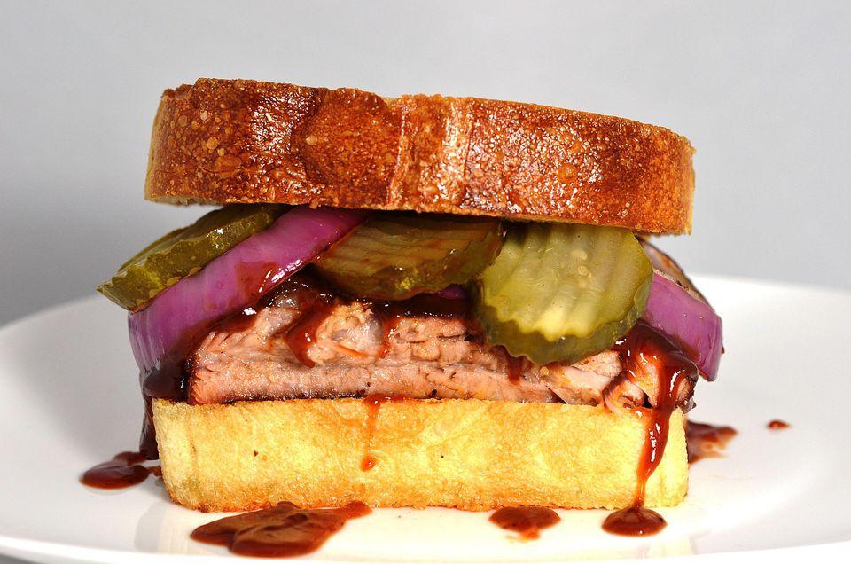 Ultimate McRib Sandwich