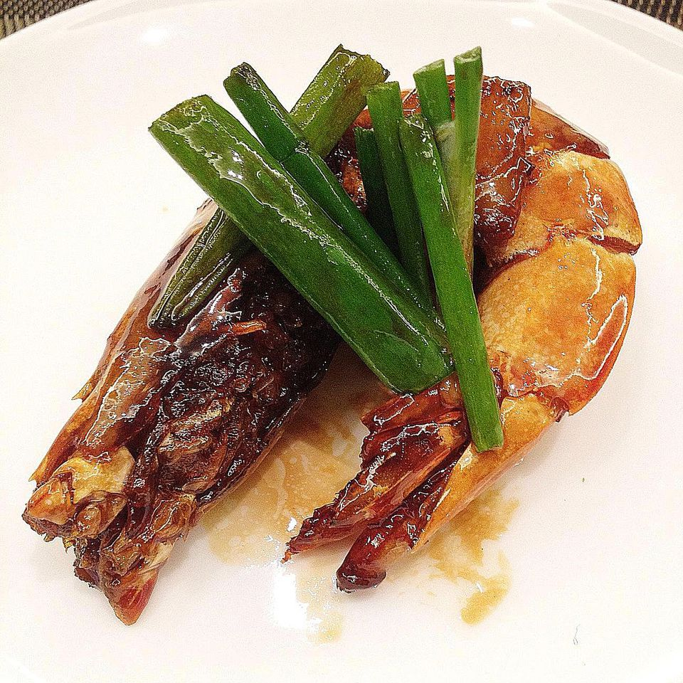 Grilled Shrimp with Ponzu Sauce