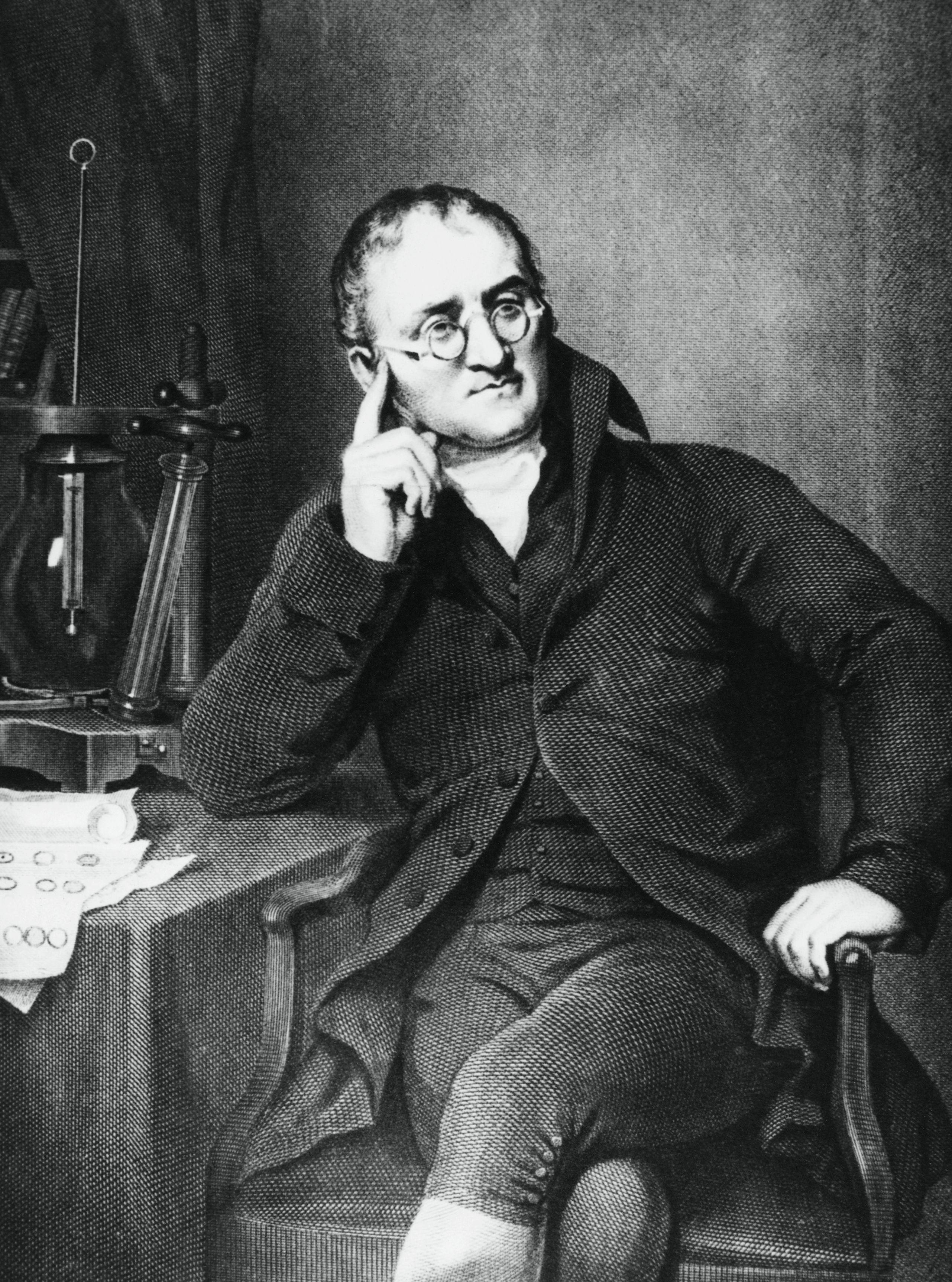 a biography of english chemist and physicist john dalton